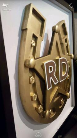 3D Wooden Business Logo
