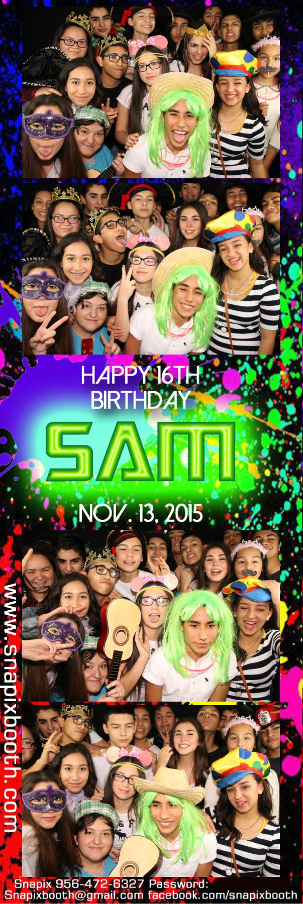 Sam's 16 Birthday