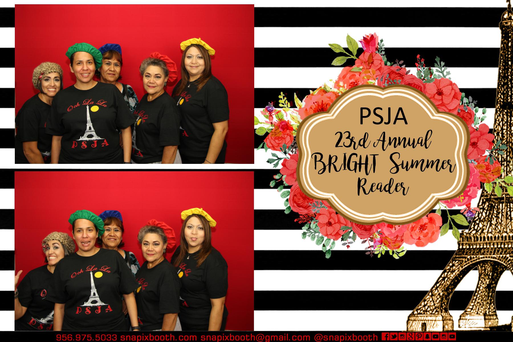 PSJA 23rd Annual BRIGHT Summer Reade