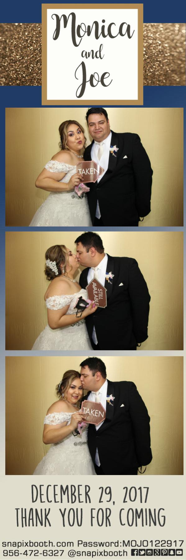 Monica & Joe Wedding