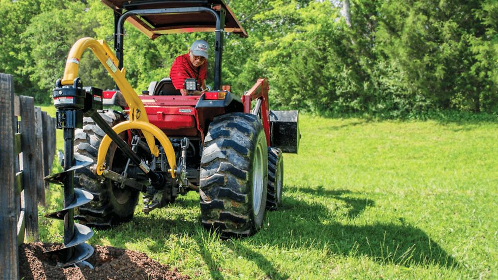 Fencing, post hole diggers, tractor attachments, tractor, kioti, kioti tractors
