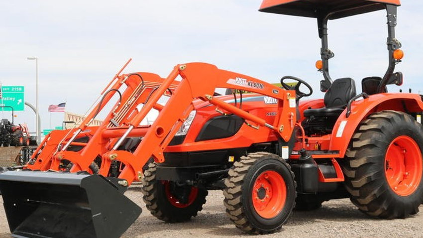 NX5510HB-KL6010 Tractor