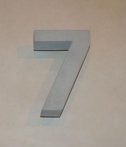 Betonzahl 7