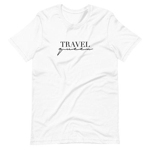 Travel Queen Tee - Black Logo