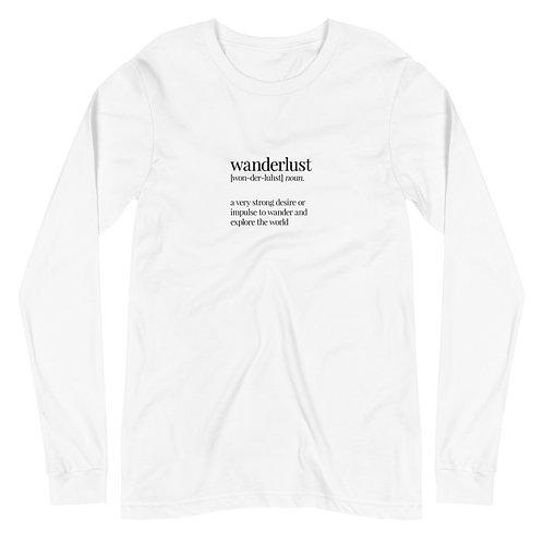 Wanderlust Long Sleeve Shirt