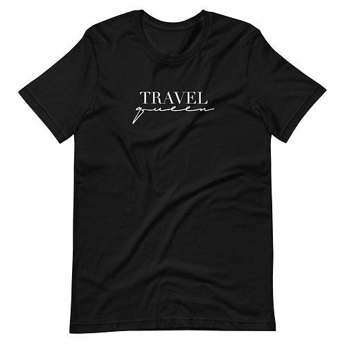 Travel Queen Tee - White Logo