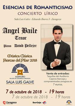ANGEL BAILE EN LA SALA LUIS GALVE