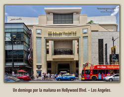 Hollywood Blvd. - Los Angeles.