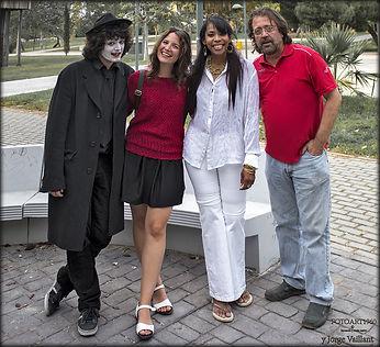 Gerald, Carla, Ludmila y Fer