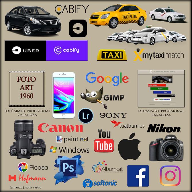 Taxistas, Uber, Cabify, Fotógrafos Profesionales y mil cosas más