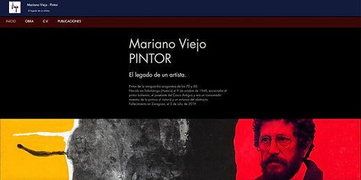 Pintor Mariano Viejo - Artista Plástico - Zaragoza