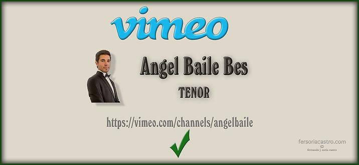 VIDEOS DE ANGEL BAILE EN CANAL VIMEO