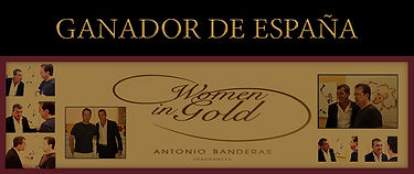 GANADOR WOMEN IN GOLD ANTONIO BANDERAS