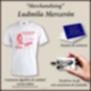 """Merchandising""  Ludmila Mercerón"