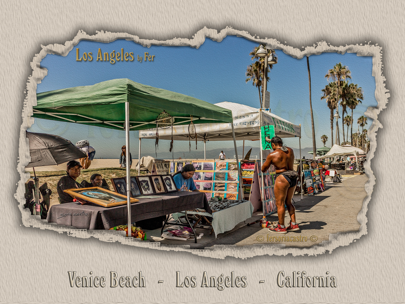 Venice Beach   -   Los Angeles   -   California