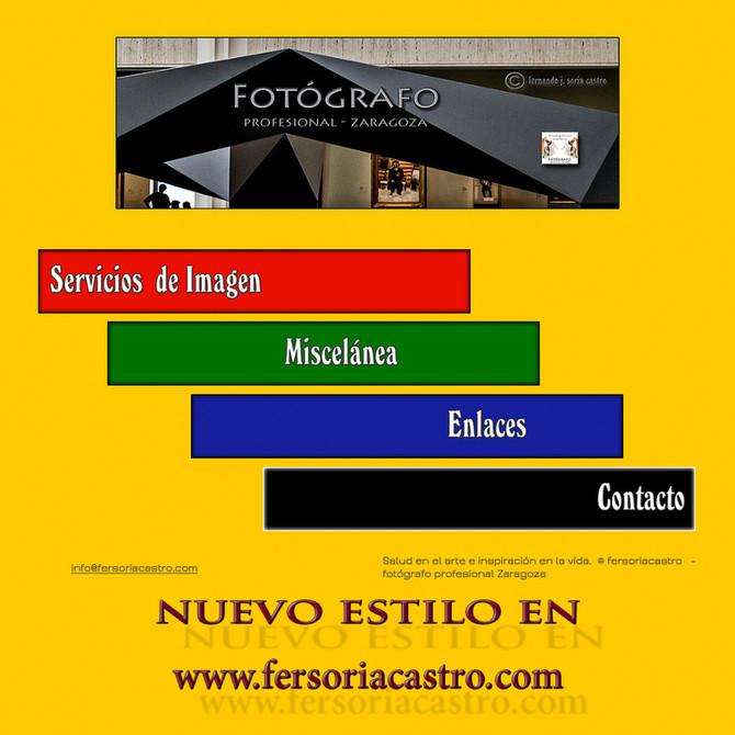 Nuevo Blog fersoriacastro