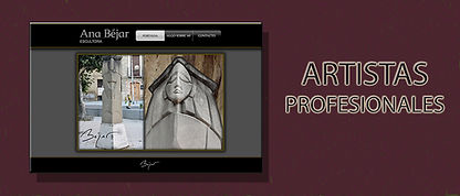 WEBS PARA ARTISTAS Y PROFESIONALES