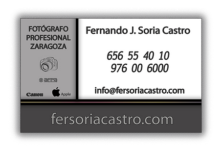 fotógrafo profesional Zaragoza