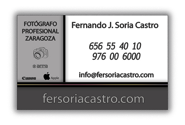 contacto fotógrafo profesional Zaragoza