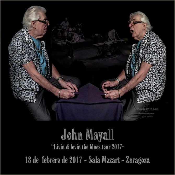 John Mayall en Zaragoza