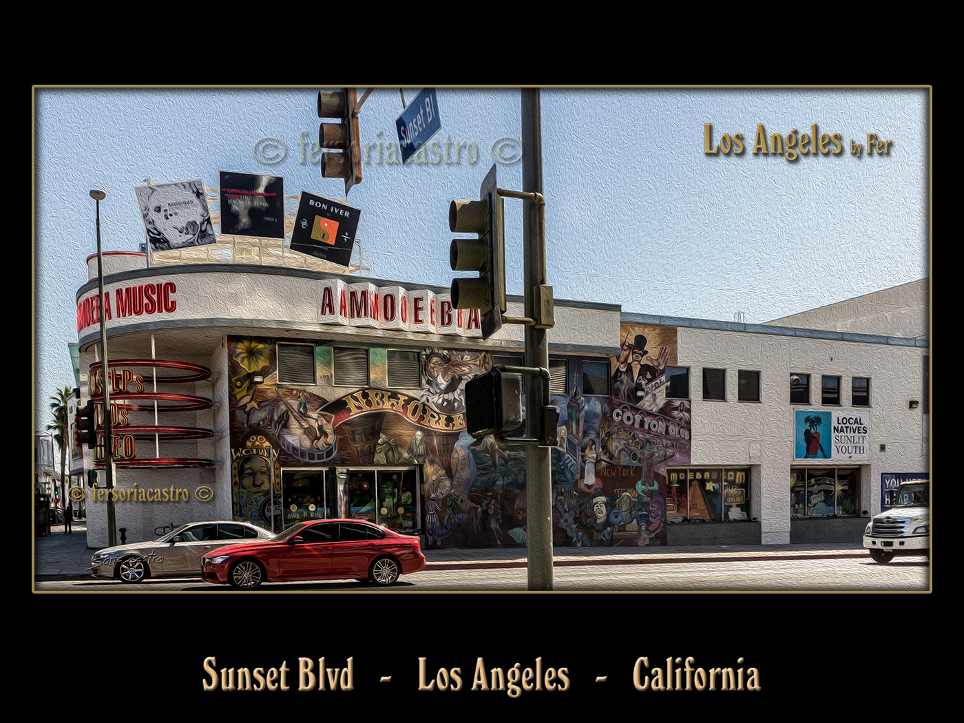 Amoeba Music Sunset Blvd