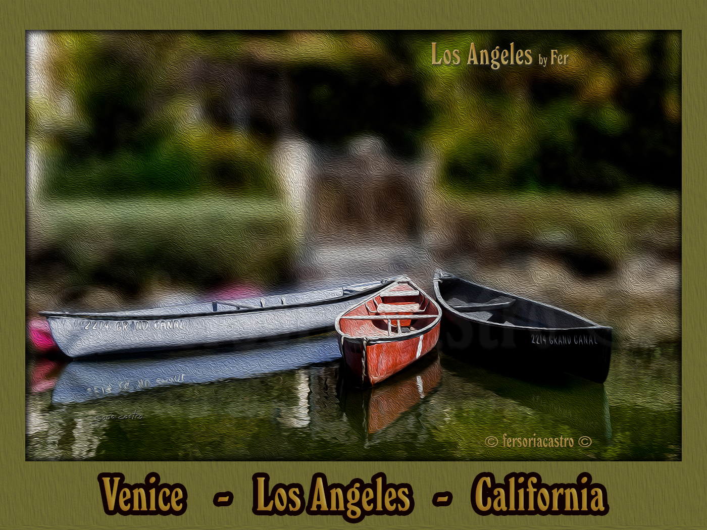 Venice Canals   -   Los Angeles   -