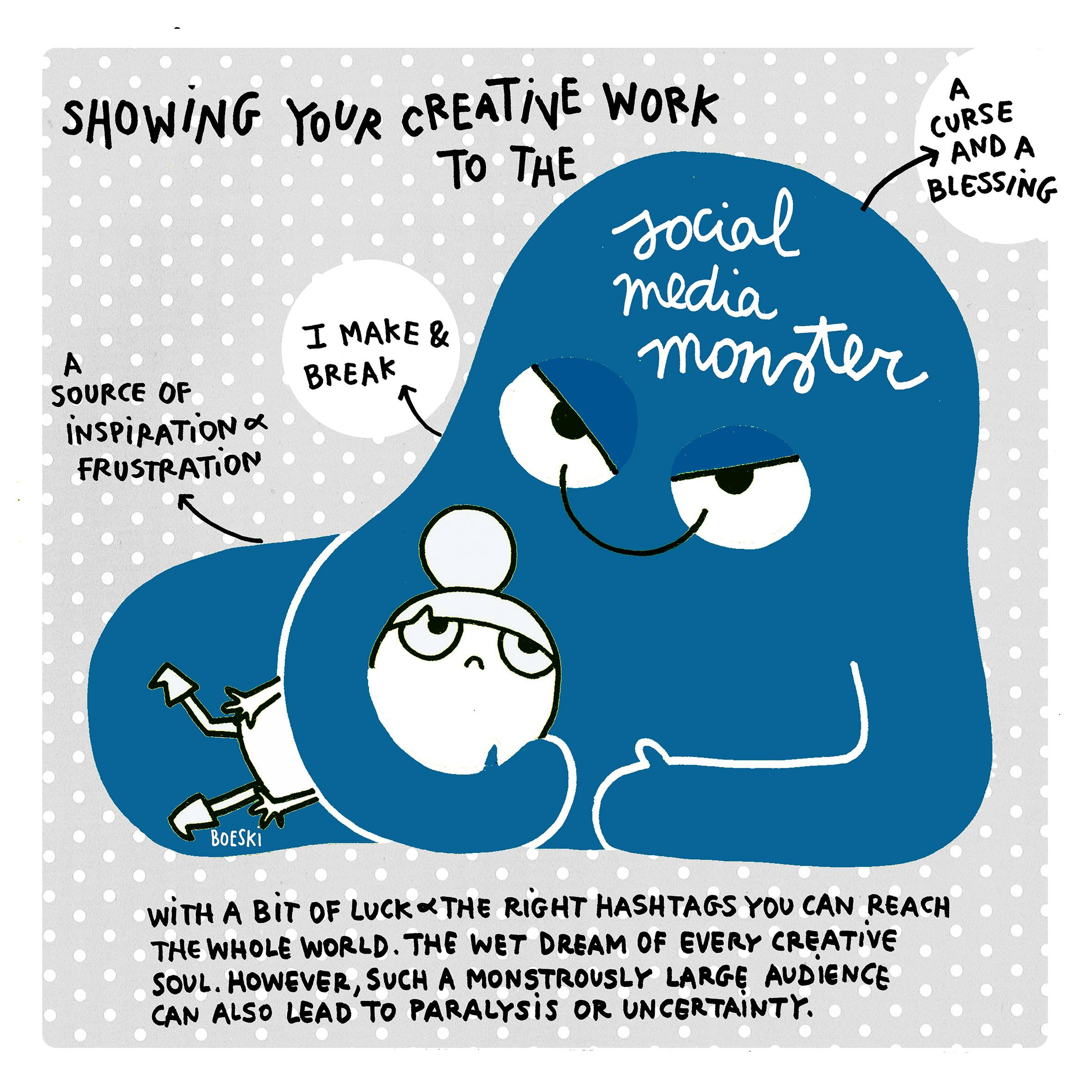 Social media monster (FF mag)