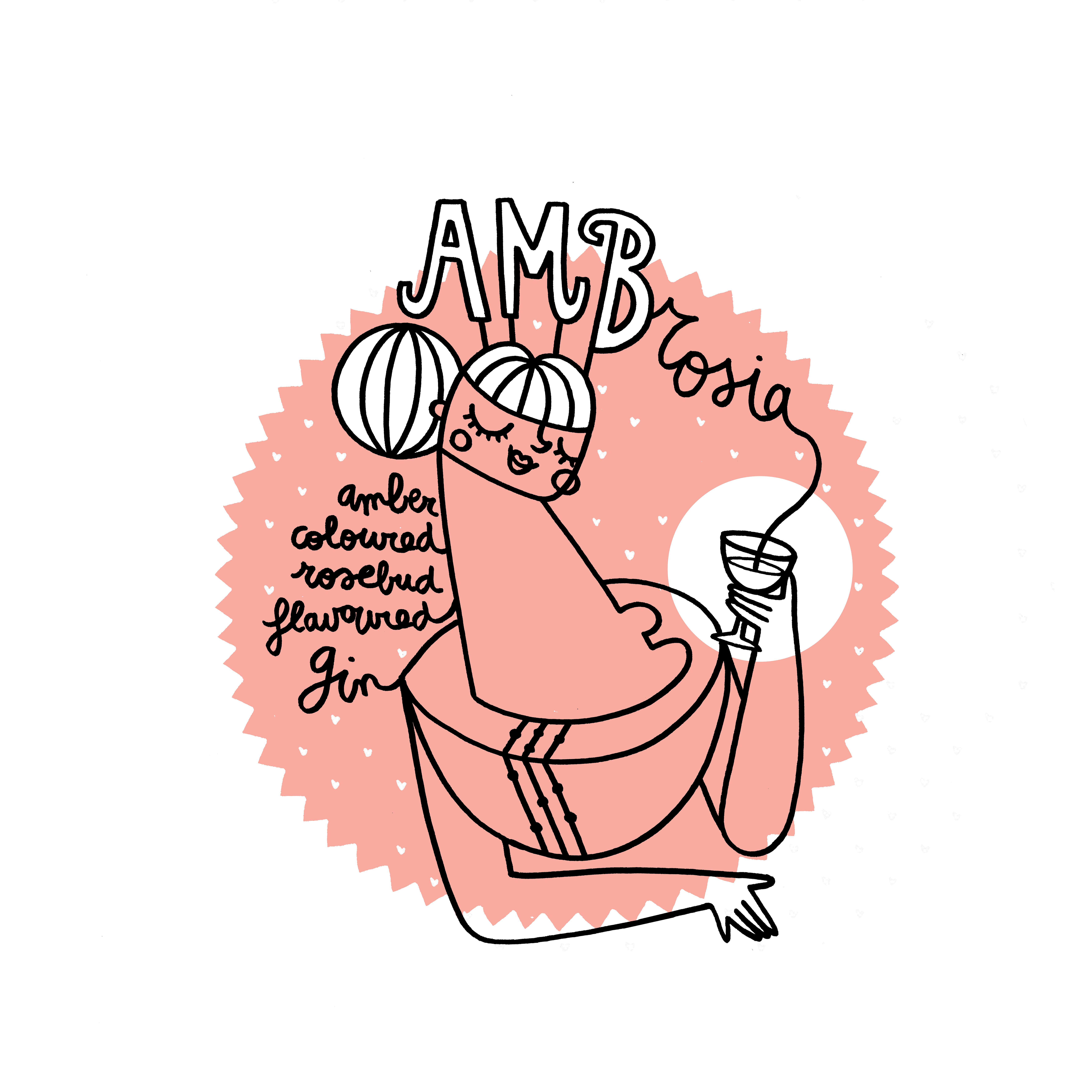 AMBrosia gin design