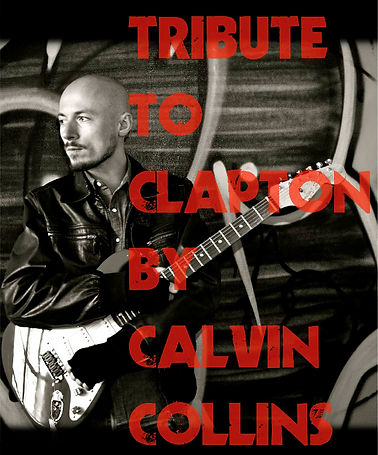 Calvin Collins musicien professionnel Lyon Tribute to Clapton
