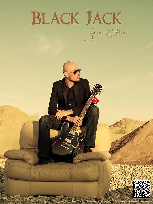Calvin Coal musicien professionnel Lyon Black Jack