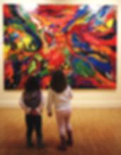 pintura abstracta de José Requena Nozal en la web requenanozal.com