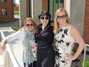 The Wyrd Sisters: Shannon Murray, Lisa Dickson and Jessica Riddell, The Wyrd House