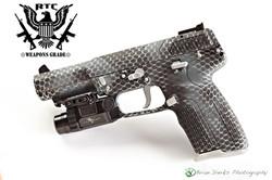 FN Five-Seven Snakeskin Camo Valor Camo; Blue Titanium, Graphite Black & Satin Aluminum