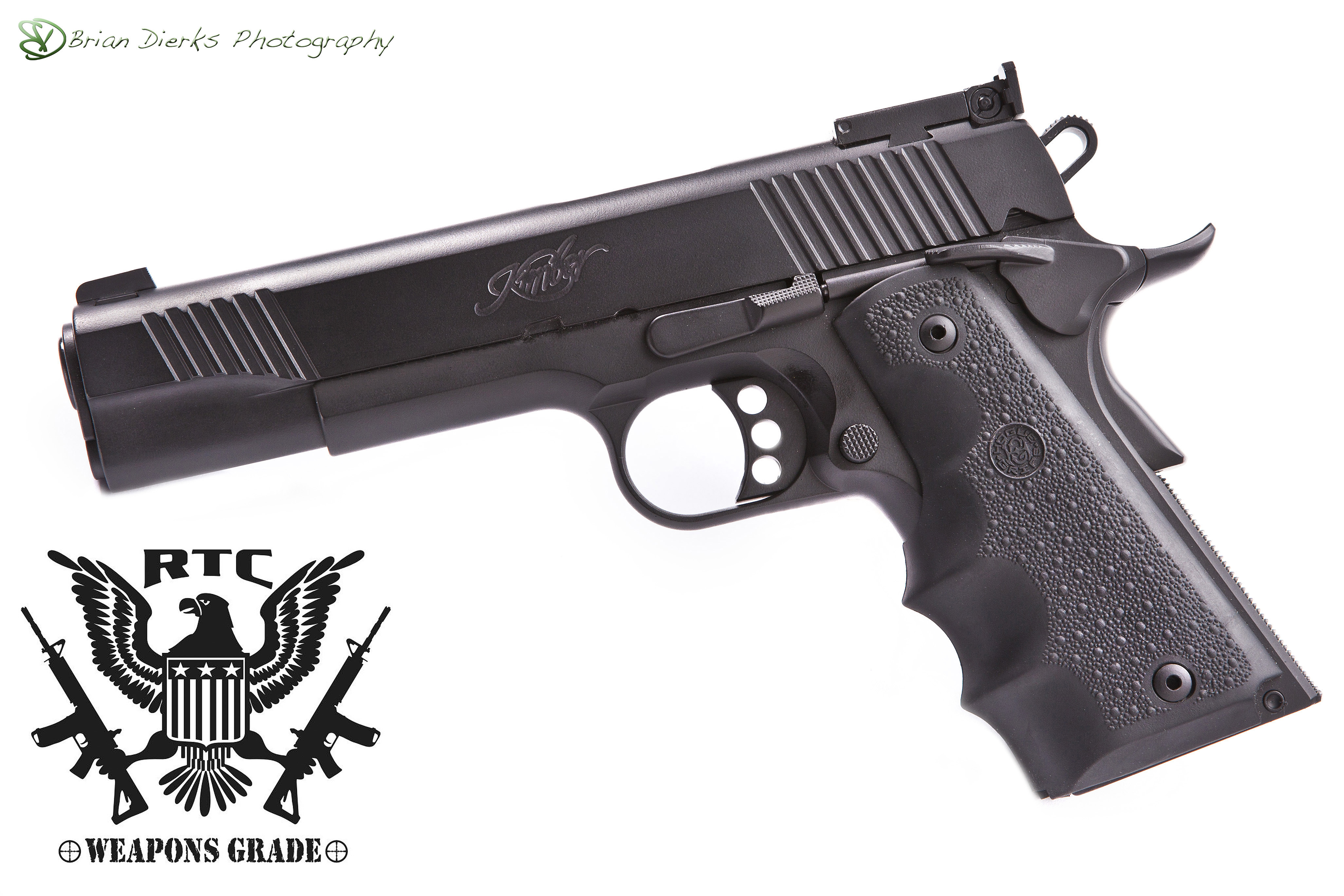 Kimber 1911 One Color Graphite Black