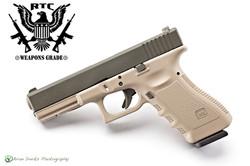 Glock 22 Magpul OD Green & McMillan Tan
