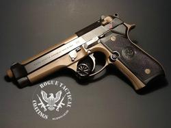 Beretta in Graphite Black and Patriot Brown