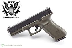 Glock 22 Graphite Black & Magpul OD Green