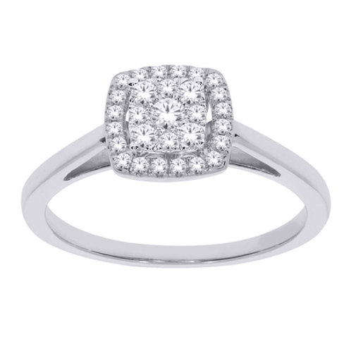 SKR10926-25 Anillo Compromiso 14kt 25 ct