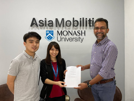 Asia Mobiliti and Monash University Malaysia collaborate in R&D of intelligent sensing technologies