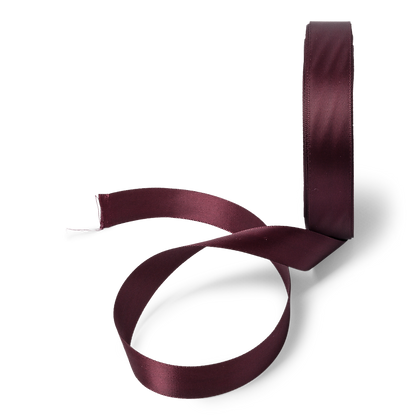 Ruban Satin Bordeaux