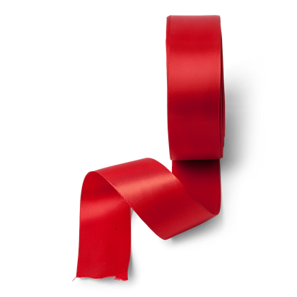 Ruban Satin Rouge