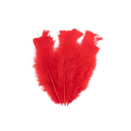 18 Plumes Rouges