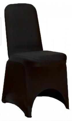 Housse de chaise noire