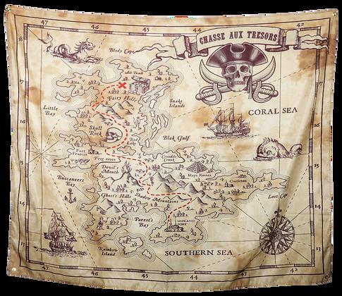 Poster Pirate en tissus