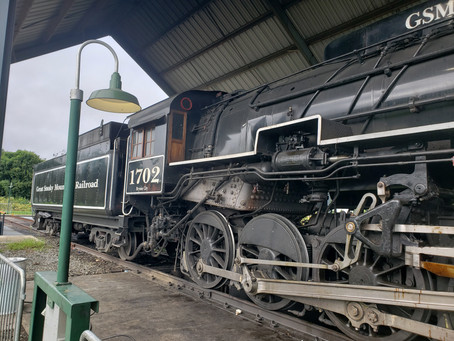 Smoky Mountain RR visit in August 2021