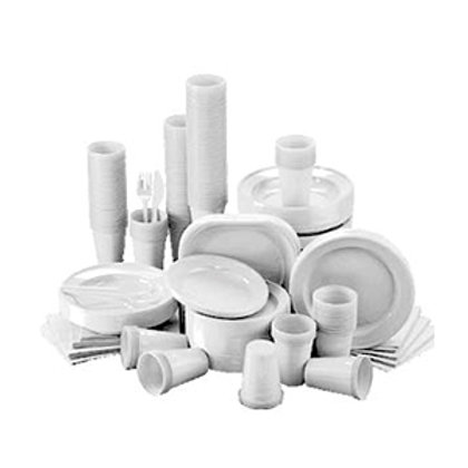 Disposable Plates, Cutlery & Napkins