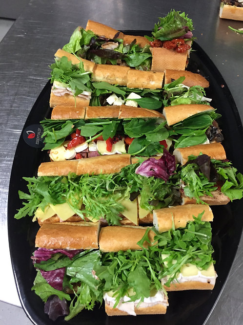Large Fresh Baguettes Platter