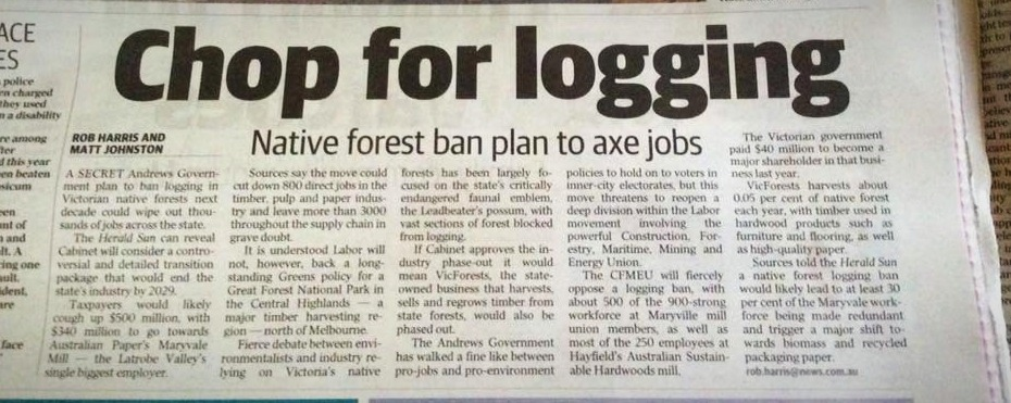 Herald Sun Plan to axe jobs on NP Septem