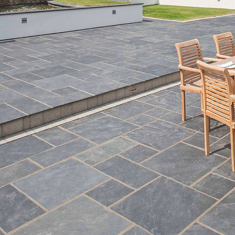 Blue Valley Natura Stone Pavers Patio Tulsa