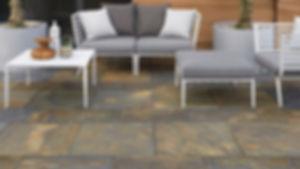 Copperfield stone pavers patio Tulsa